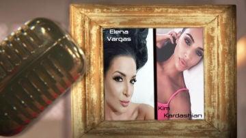 "VÍDEO - Elena Vargas: ""Kim Kardashian es mi referente"""