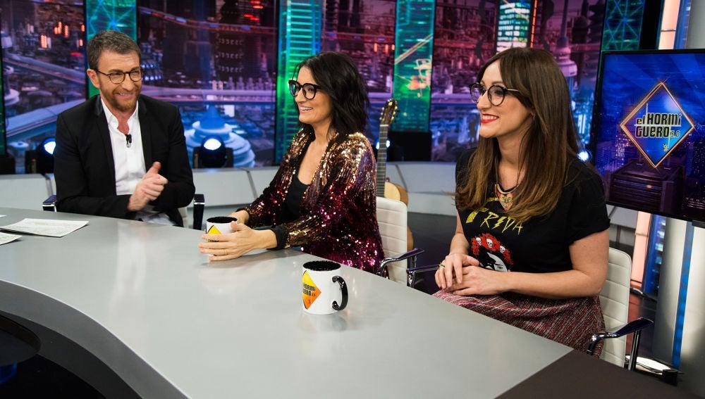 """Ana Morgade habla en 'El Hormiguero 3.0' sobre su sesión de fotos: """"Es muy difícil parecer sexy y relajada a la vez"""""""