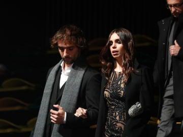 Elena Furiase y Gonzalo Sierra