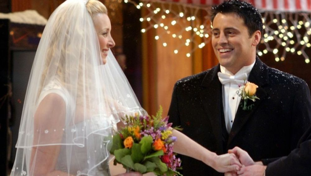 Phoebe y Joey en 'Friends'