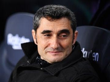 Valverde durante el partido contra el Leganés