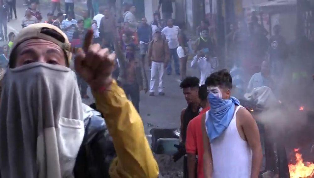 Protestas por la detención de soldados contrarios al régimen de Maduro