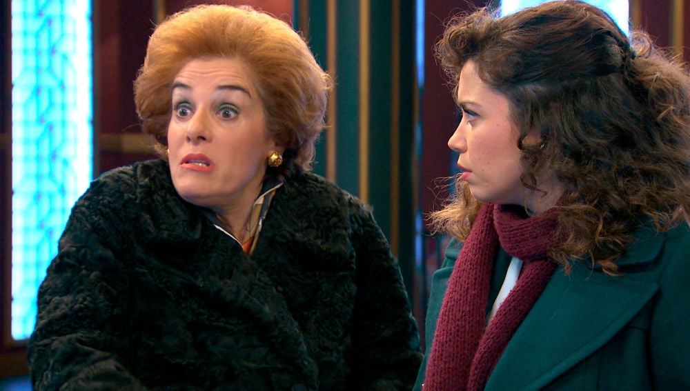 """Benigna alerta a Luisita: """"Tu madre sabe que tienes un lío"""""""