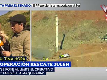 La difícil decisión en el rescate de Julen: Seguir trabajando con riesgo de romper la máquina o dejar de excavar y hacer trabajos de mantenimiento