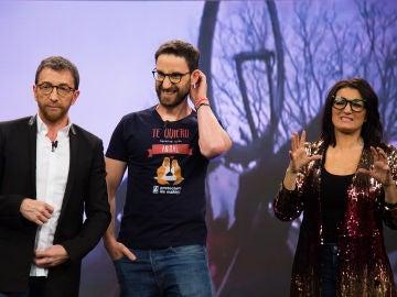 """Dani Rovira explica en 'El Hormiguero 3.0' cómo fue el momento del impactante accidente que sufrió rodando un documental: """"No me acostumbro a verlo"""""""