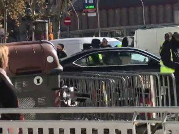 Agresión a un VTC en Atocha