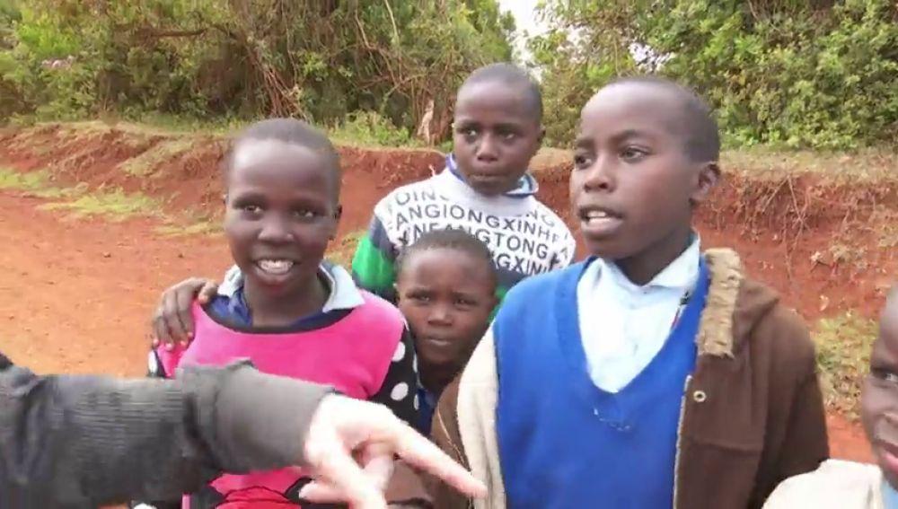 """El sueño de los niños keniatas: """"Quiero ser como Kipchoge"""""""