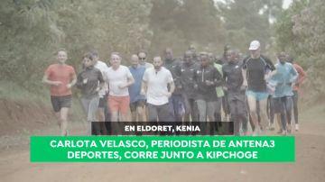 Antena 3 Deportes, en Kenia con Eliud Kipchoge, récord del mundo de maratón