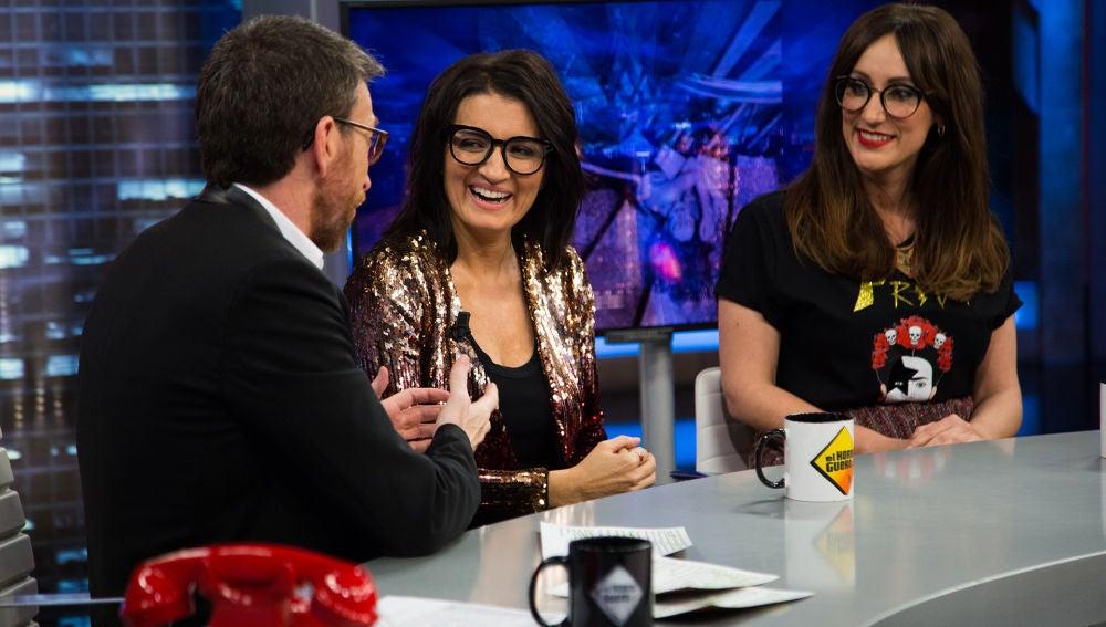 Ana Morgade, Silvia Abril y Pablo Motos hablan de las crisis del amor en 'El Hormiguero 3.0'