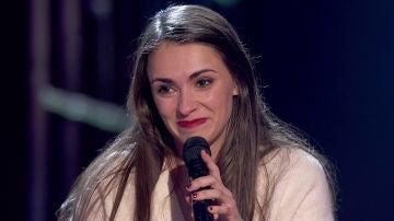VÍDEO: Las emocionantes palabras de agradecimiento de Miriam Fernández