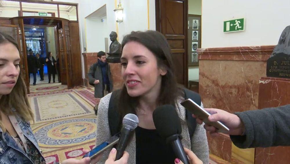 Montero afirma que Podemos presentará un nuevo candidato a la Comunidad de Madrid