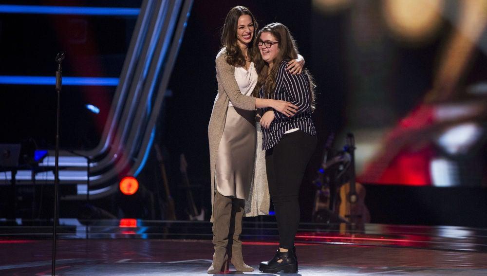 """Eva González sorprende a Jennifer en 'La Voz': """"Estás dentro de las Audiciones a ciegas"""""""