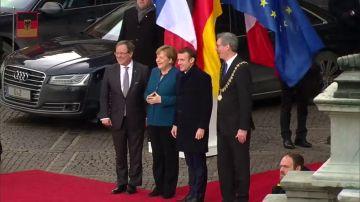 Merkel y Macron firman un acuerdo contra el nacionalismo y el populismo