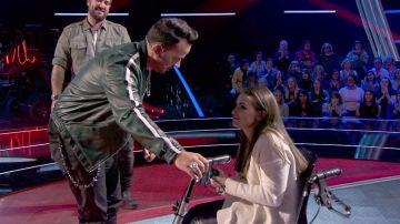 VÍDEO: Luis Fonsi, emocionado por tener a Miriam Fernández en su equipo