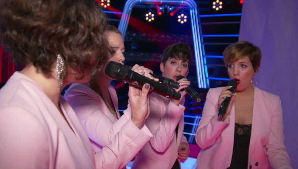 Les Fourchettes, el primer cuarteto en la historia de 'La Voz'