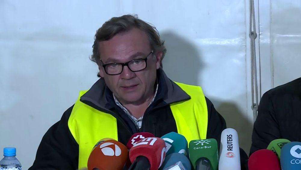 """El coordinador del rescate en Totalán: """"Sentimos que cada vez estamos más cerca de Julen"""""""