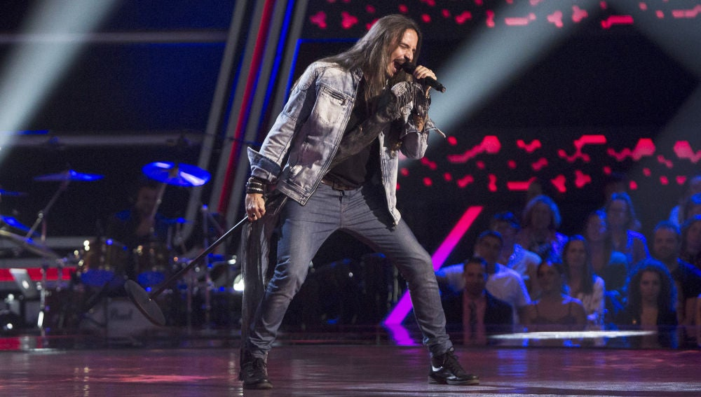 Vídeo: Daniel García canta 'Here I go again' en las 'Audiciones a ciegas'