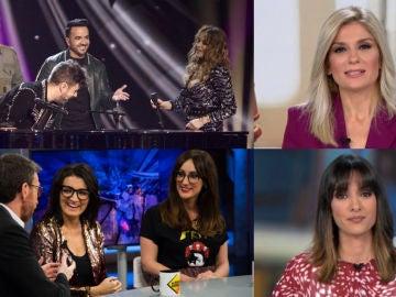 Gran lunes para Antena 3 con el liderazgo de 'La Voz' y los récords de temporada de 'El Hormiguero' y Antena 3 Noticias