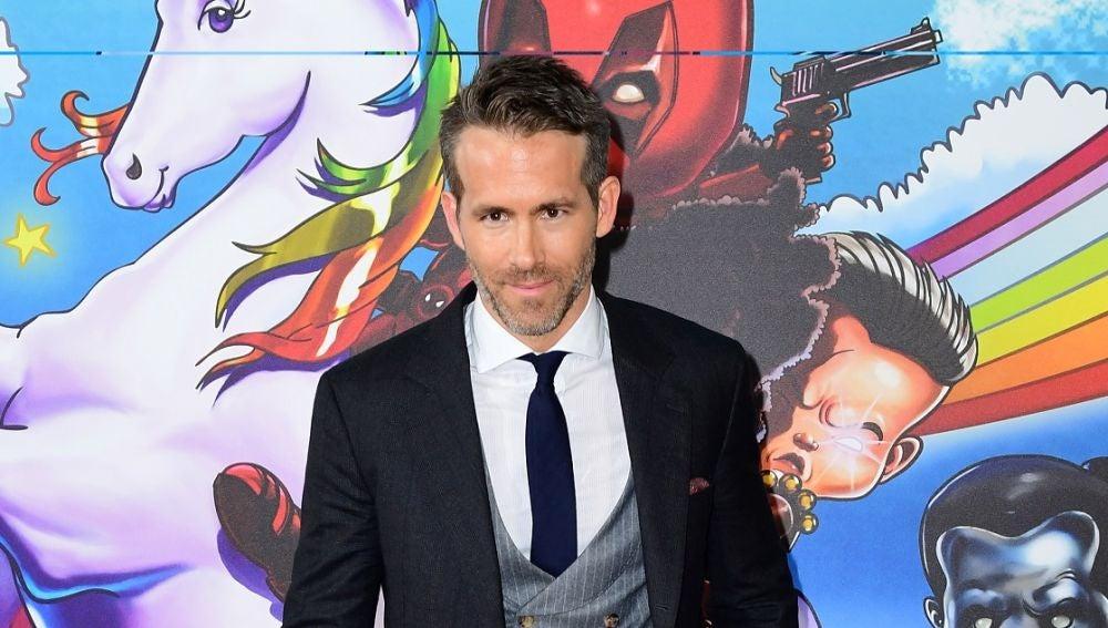 Ryan Reynolds en la premiere de 'Deadpool 2'