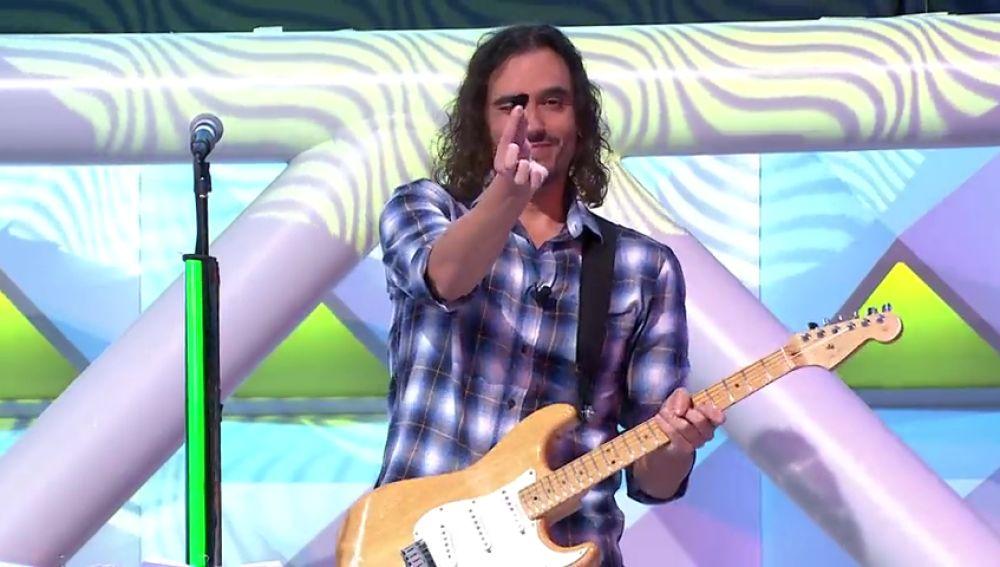 ¿Es Jorge Fernández un friki de la guitarra? La clave está en la púa