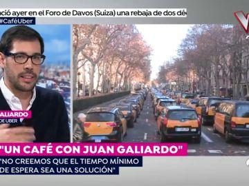 """Juan Galiardo, director de Uber: """"Si la Generalitat aprueba un tiempo de espera cerramos el servicio en España"""""""