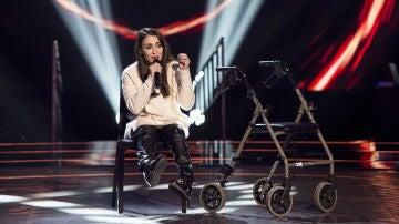 VÍDEO: Miriam Fernández canta 'Con las ganas' en las 'Audiciones a ciegas' de 'La Voz'