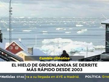 Groenlandia se derrite a gran velocidad