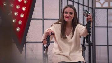 """VÍDEO: Miriam Fernández: """"La mayor parálisis cerebral que más nos limita es el miedo"""""""