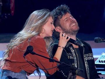 VÍDEO - LA VOZ: Palomy y Pablo López interpretan 'Ángel caído' al piano en 'La Voz'