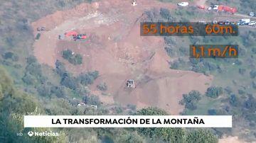 La transformación de la montaña de Totalán