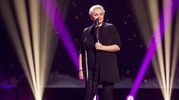 Vídeo: Onelia Leiva canta 'The edge of glory' en las 'Audiciones a ciegas'