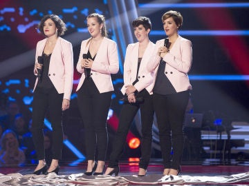 VÍDEO: Les Fourchettes canta 'And so it goes' en las 'Audiciones a ciegas' de 'La Voz'