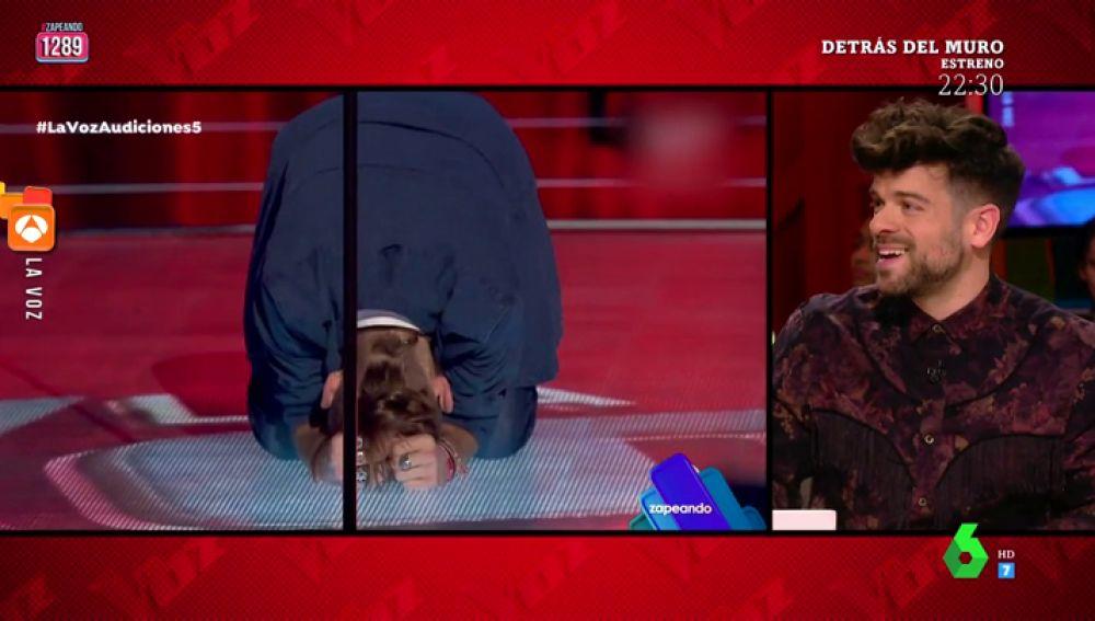 Ricky Merino habla sobre el bajón de Andrés Martín al finalizar su actuación en 'La Voz'