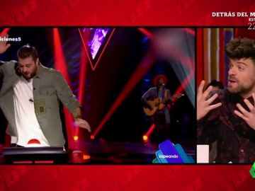 Ricky Merino habla sobre el cabreo de Atonio Orozco cuando fue bloqueado en la actuación de Mel