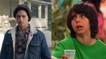 Cole Sprouse en 'Riverdale' y Moises Arias en 'Hannah Montana'