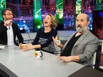 María Pujalte y Javier Cámara cuentan en 'El Hormiguero 3.0' los detalles sobre su nueva serie