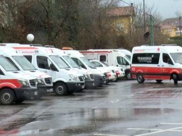 Desalojan el Hospital de Arriondas por riesgo de inundaciones