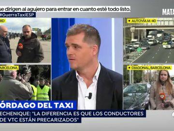"""Zaryn Dentzel: """"No es que Uber y Cabify se vayan de Barcelona, es que les echan"""""""