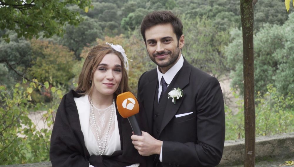 Rubén Bernal y Claudia Galán dedican unas bonitas palabras a los seguidores de 'El secreto de Puente Viejo'