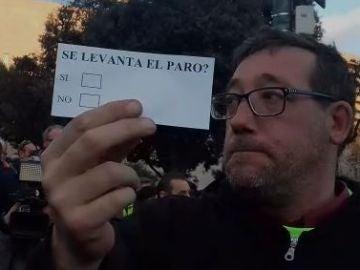 as papeletas que usarán los taxistas de Barcelona