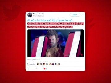El 'escondite' de Pablo López en 'La Voz' alborota las redes sociales