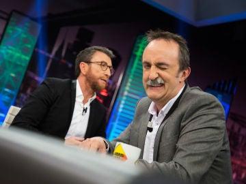 Santi Rodríguez analiza el comportamiento de los españoles ante un buffet libre en 'El Hormiguero 3.0'