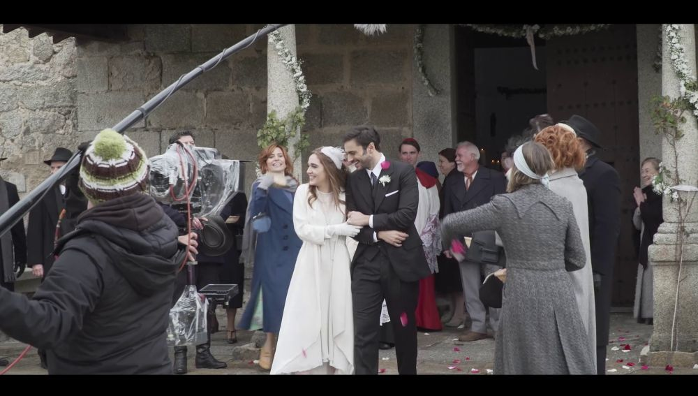 Así se grabó la boda de Julieta y Saúl