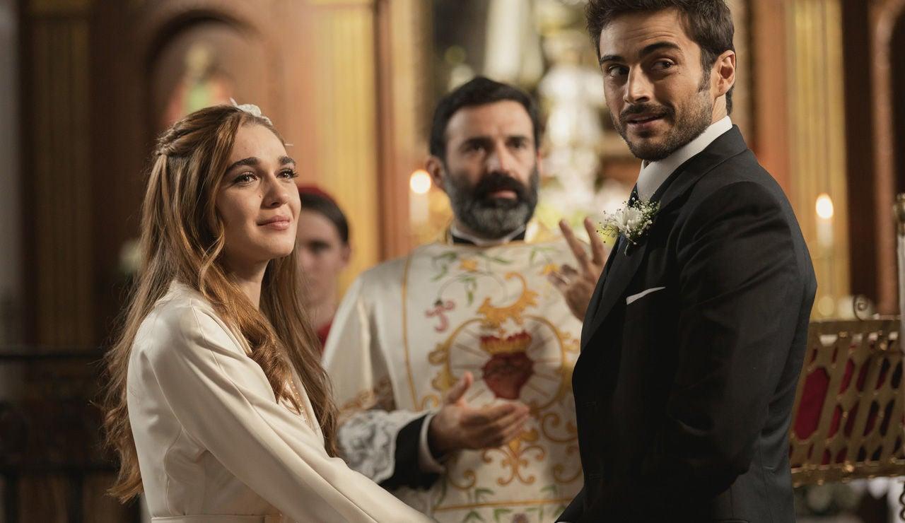 Las imágenes de la boda de Julieta y Saúl