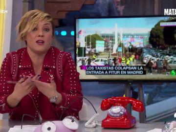 Qué opina Cristina Pardo sobre la huelga de taxis indefinida