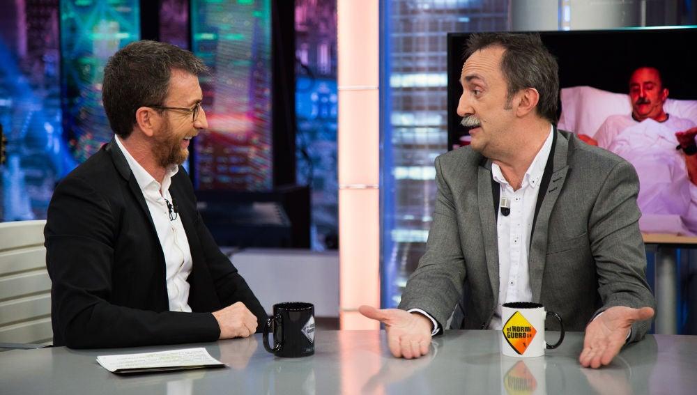 Santi Rodríguez habla en 'El Hormiguero 3.0' sobre cómo el infarto que sufrió ha inspirado su nuevo espectáculo