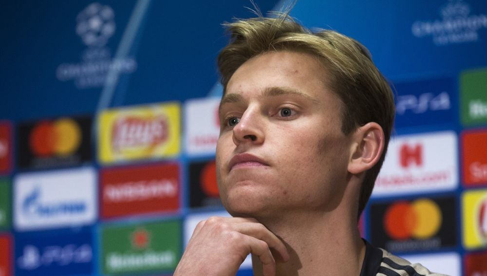 Frenkie de Jong, jugador del Ajax