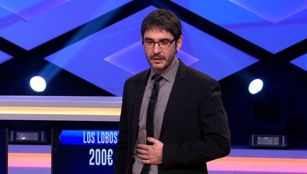 El motivo de la gratificante sorpresa a Alberto, del equipo de 'Los Lobos', marea a Juanra Bonet