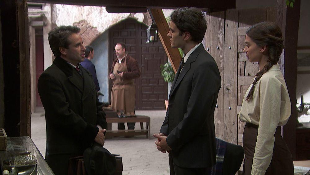 Carmelo ofrece a Álvaro ser médico titular de Puente Viejo