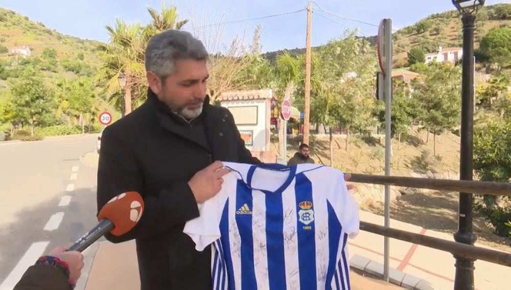 Juan José Cortés ha visitado a los padres de Julen